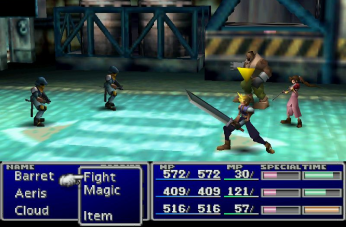Final Fantasy VII, 1997